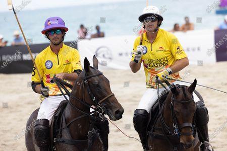 Alejandro Novillo - Team Seminole Casino, left, and Nacho Figueras - Team Seminole Casino