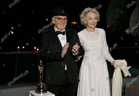 Editorial photo of Press Room - 93rd Academy Awards, Paris, France - 26 Apr 2021