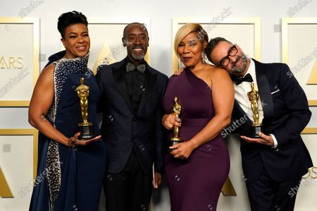 Editorial photo of Press Room - 93rd Academy Awards, Los Angeles, USA - 25 Apr 2021