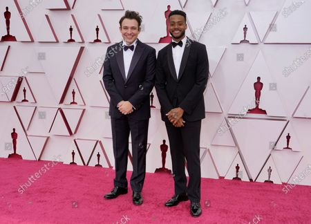 Editorial photo of Arrivals - 93rd Academy Awards, Los Angeles, USA - 25 Apr 2021