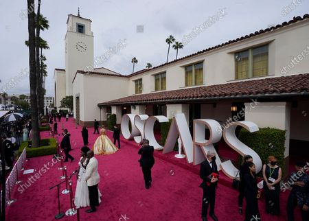 Editorial image of Arrivals - 93rd Academy Awards, Los Angeles, USA - 25 Apr 2021