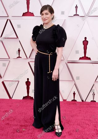 Stock Photo of Mollye Asher arrives at the Oscars