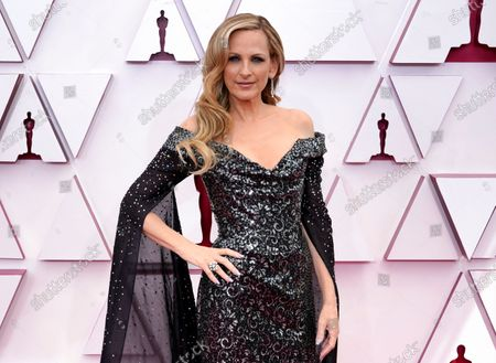 Stock Image of Marlee Matlin arrives at the Oscars