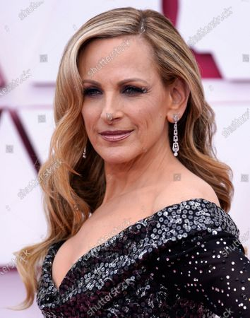 Stock Picture of Marlee Matlin arrives at the Oscars