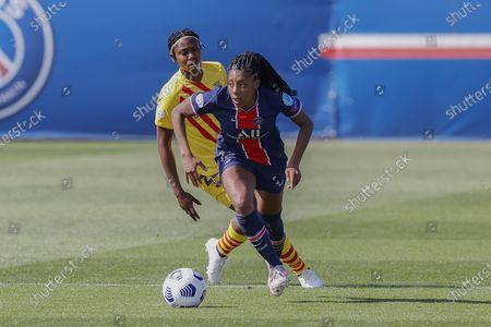 Editorial photo of Paris Saint-Germain v FC Barcelona, UEFA Champions League Women football match, Georges Lefevre stadium, Saint-Germain-en-Laye, France - 25 Apr 2021
