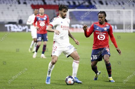 Editorial picture of Olympique Lyonnais v Lille OSC, Ligue 1, Football, Groupama Stadium, France - 25 Apr 2021