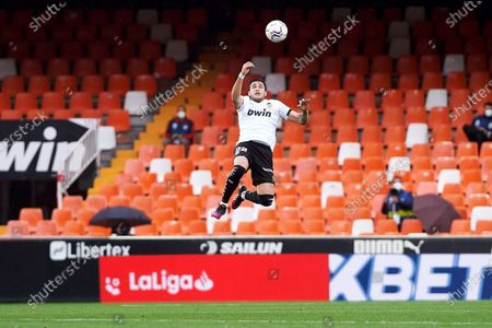 Maxi Gomez of Valencia CF