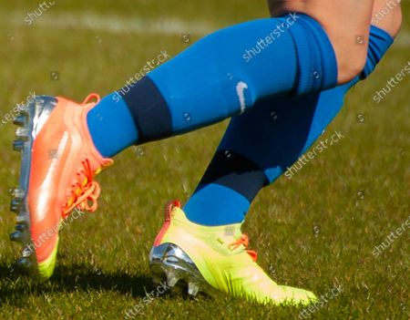 Harriet Scott (Birmingham City #3) wearing Puma 20.1 football boot