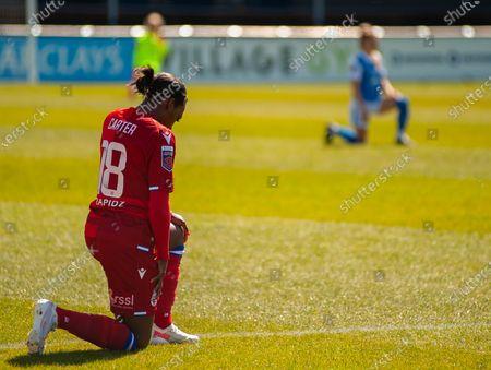 Editorial picture of Birmingham City v Reading, Womens Super League, SportNation.bet Stadium, Solihull, UK - 25 Apr 2021