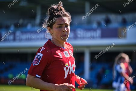 Stock Photo of Fara Williams (4 Reading) in action