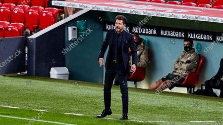 Diego Pablo Simeone, coach of Atletico de Madrid