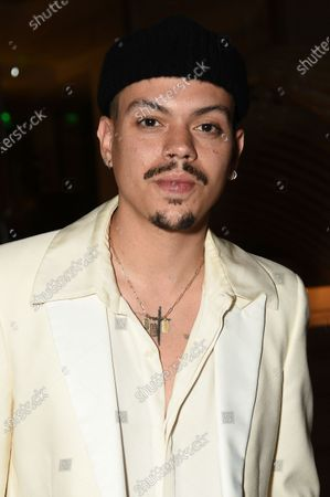 """Stock Photo of Evan Ross arrives at an afterparty celebrating the cast of """"United States vs. Billie Holiday"""" at Spring Place, in Beverly Hills, Calif"""