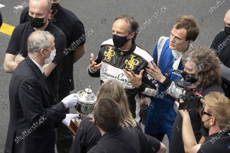 Marco Werner found guilty of clashing with Jean Alesi, regressed from first to third place in the ranking, on the 12th GRAND PRIX OF HISTORIC MONACO, Marco WERNER, DEU, CHROMECARS RACING, LOTUS, (Serie F: Monte-Carlo MONACO - 25/04/2021