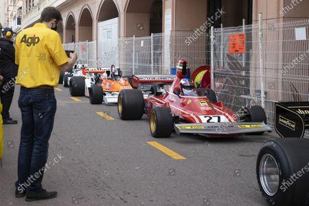 Paddock, 27, Jean Alesi, FRA, METHUSALEM RACING, FERRARI, 312B3, 1974, Class 2 (Serie F: Monte-Carlo MONACO