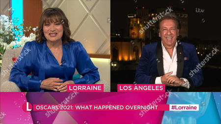 Lorraine Kelly and Ross King