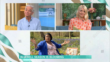 Stock Photo of Phillip Schofield, Holly Willoughby and Alison Hammond