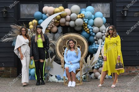 Exclusive - Frankie Sims, Demi Sims, Georgia Kousoulou and Amy Childs