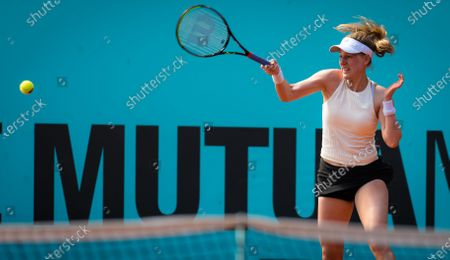 Editorial picture of Mutua Madrid Open, Tennis, La Caja Magica, Madrid, Spain - 29 Apr 2021