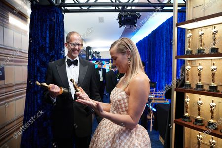 Editorial image of 93rd Annual Academy Awards, Backstage, Los Angeles, USA - 25 Apr 2021