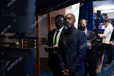 Don Cheadle poses backstage during the live ABC Telecast of The 93rd Oscars® at Union Station in Los Angeles, CA on Sunday, April 25, 2021.