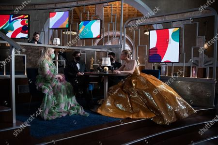 Editorial photo of 93rd Annual Academy Awards, Backstage, Los Angeles, USA - 25 Apr 2021