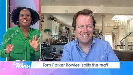 Charlene White and Tom Parker Bowles