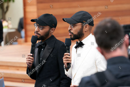 Oscar nominees Keith Lucas and Kenny Lucas prior to the live ABC Telecast of The 93rd Oscars at Union Station