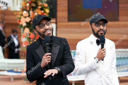 Stock Picture of Oscar nominees Keith Lucas and Kenny Lucas prior to the live ABC Telecast of The 93rd Oscars at Union Station
