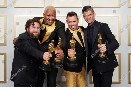 Editorial photo of 93rd Annual Academy Awards, General Photo Room, Los Angeles, USA - 25 Apr 2021