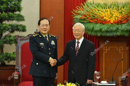 Editorial image of Vietnam Hanoi China Wei Fenghe Visit - 26 Apr 2021