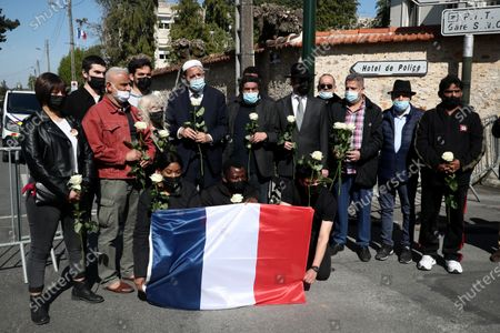 Editorial picture of Knife attack aftermath in Rambouillet, France - 26 Apr 2021