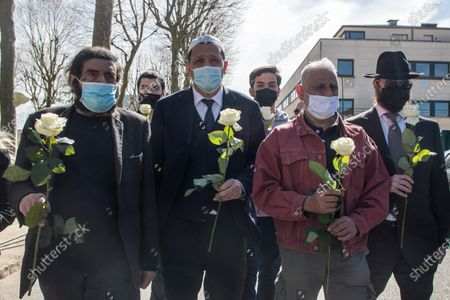 Editorial photo of Knife attack aftermath in Rambouillet, France - 26 Apr 2021