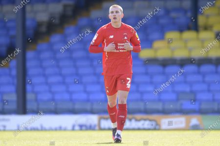 Sam Ling of Leyton Orient in action during Sky Bet League Two match between Southend United and Leyton Orient  at Roots Hall in Southend - 24th April 2021