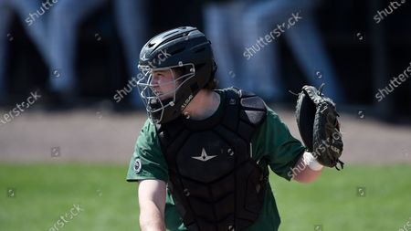 Binghamton's Kevin Reilly during an NCAA baseball game, in Baltimore