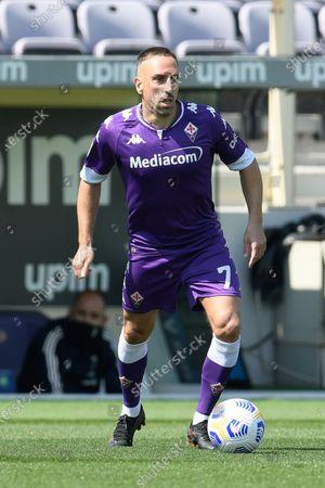 Franck Ribery of ACF Fiorentina