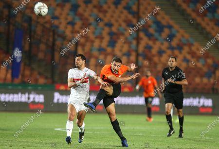 Editorial photo of Zamalek SC vs National Bank of Egypt SC, Cairo - 26 Apr 2021