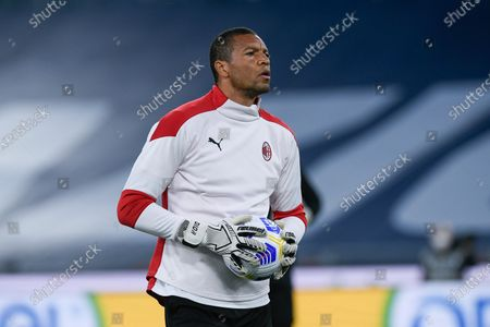 Nelson Dida of AC Milan during the Serie A match between SS Lazio and AC Milan at Stadio Olimpico, Rome, Italy on 26 April 2021.