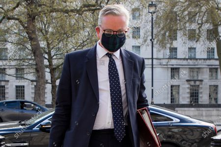 Minister for the Cabinet Office Michael Gove arrives in Westminster . Prime Minster Boris Johnson has recently come under criticism from his former chief advisor Dominic Cummings.
