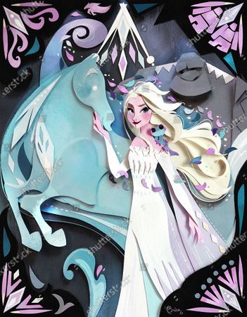 Stock Photo of Elsa is one of 14 never-before-told Disney Princess stories featured in Tales of Courage & Kindness, a new storybook collection being made available for free to help inspire a kinder world. The stories are being dedicated to children who have exhibited extraordinary acts of courage and kindness, and is available at DisneyPrincessStories.co.uk. People lending their support to the initiative include Mandy Moore, Millie Mackintosh, Katie Piper and Kelly Marie Tran. It follows research that kindness is the most important quality parents want to teach their children.