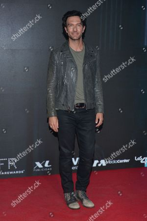 Editorial picture of 'Hoy No Me Puedo Levantar' musical, Arrivals, Cultural center Theater II, Mexico City, Mexico - 26 Apr 2021