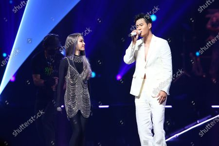 Jolin Tsai and Eric Chou