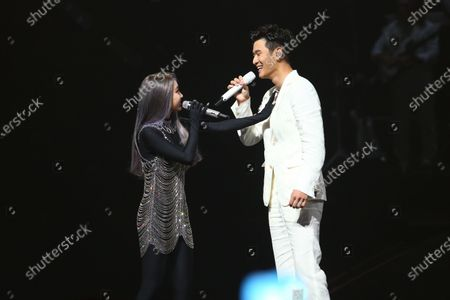 Editorial image of 'Ugly Beauty' world tour concert, Taipei, Taiwan, China - 26 Apr 2021