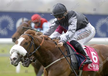 Editorial photo of Horse Racing from Ascot Racecourse, UK - 28 Apr 2021