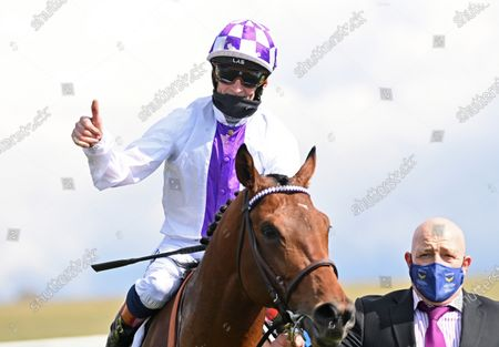 Editorial photo of Horse Racing from Newmarket Racecourse, UK - 01 May 2021