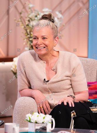 Editorial photo of 'Lorraine' TV Show, London, UK - 27 Apr 2021
