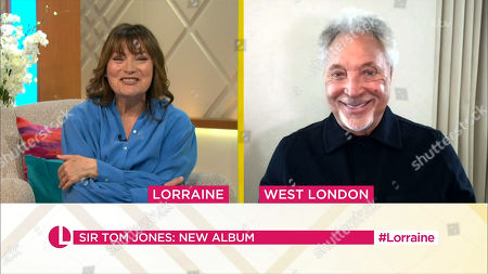 Lorraine Kelly, Tom Jones