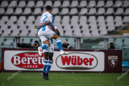 Editorial photo of Torino FC v SSC Napoli - Serie A, Turin, Italy - 26 Apr 2021