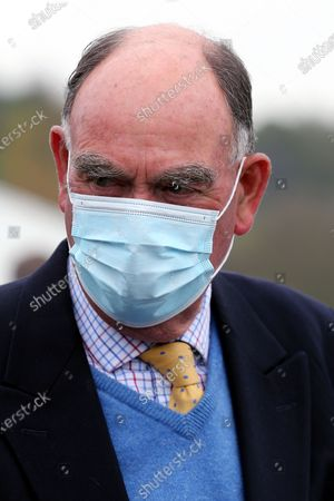 Trainer HENRY CANDY after LA LUNE wins The Listed British EBF Supporting Racing To School Nottinghamshire Oaks Stakes (Fillies & Mares) ridden by David Probert over 1m 2f  during the meeting at Nottingham Racecourse, Nottingham