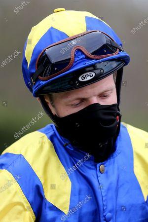Jockey David Probert during the meeting at Nottingham Racecourse, Nottingham