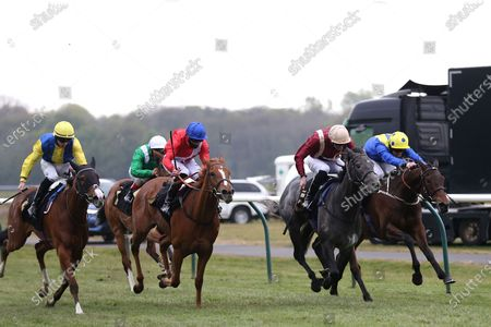 Editorial image of Nottingham Races, Horse Racing - 27 Apr 2021